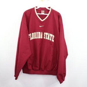 Vintage Nike Florida State Seminoles Jacket Red M